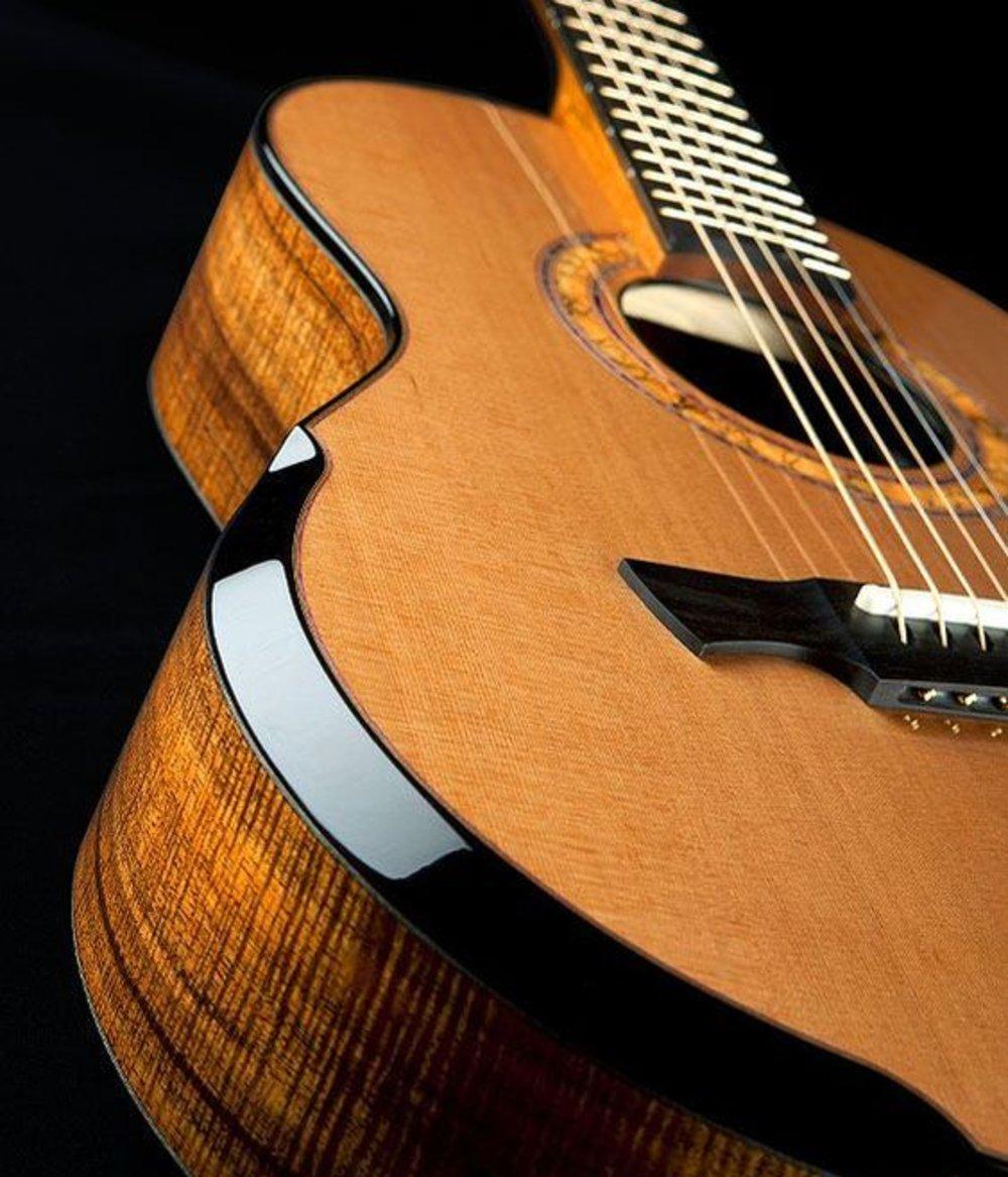 Quality wood guitars