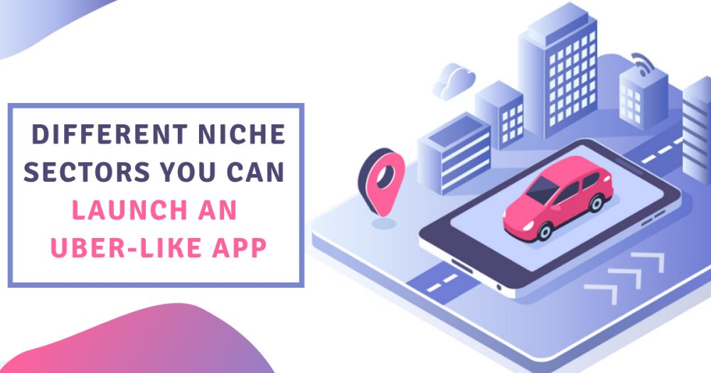 Various niche sectors to launch an Uber like app