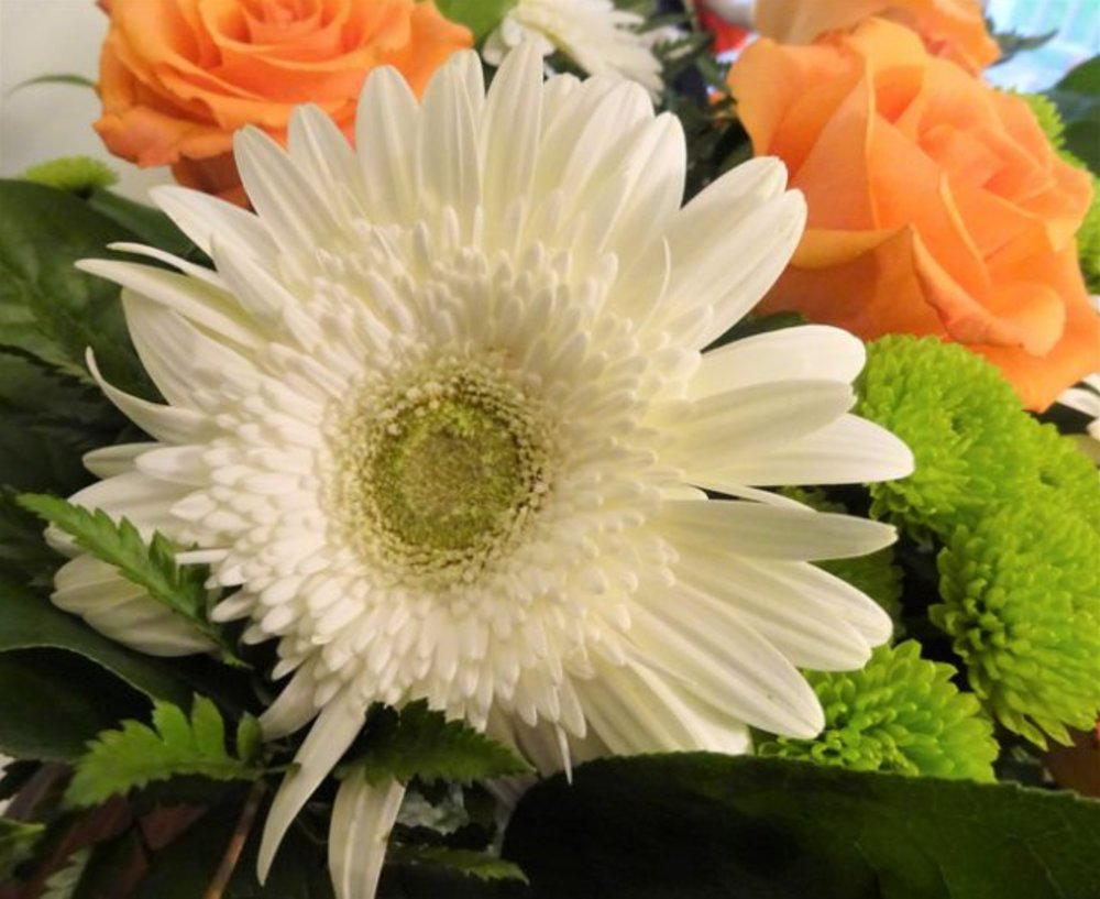 Decorate for Thanksgiving with Fall Flowers