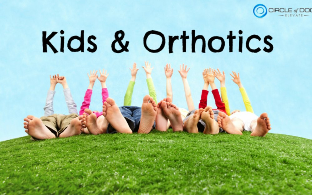 Will Custom Orthotics help my Kids Flat Feet?