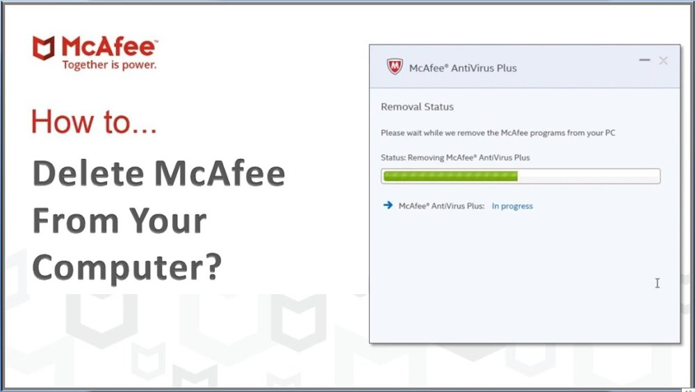 How to Delete McAfee From Your Computer?