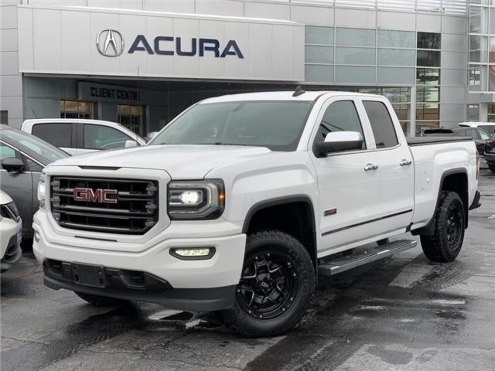 2016 GMC Sierra pre-owned 1500 SLE 4x4 Double Cab $31,989 - Acura on Brant