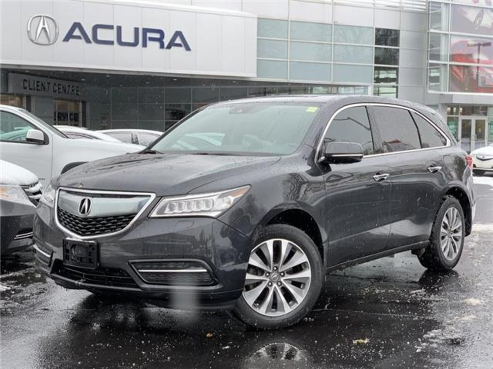 2016 Acura pre-owned MDX Navi Package $26,989 - Acura On Brant - Burlington, ON