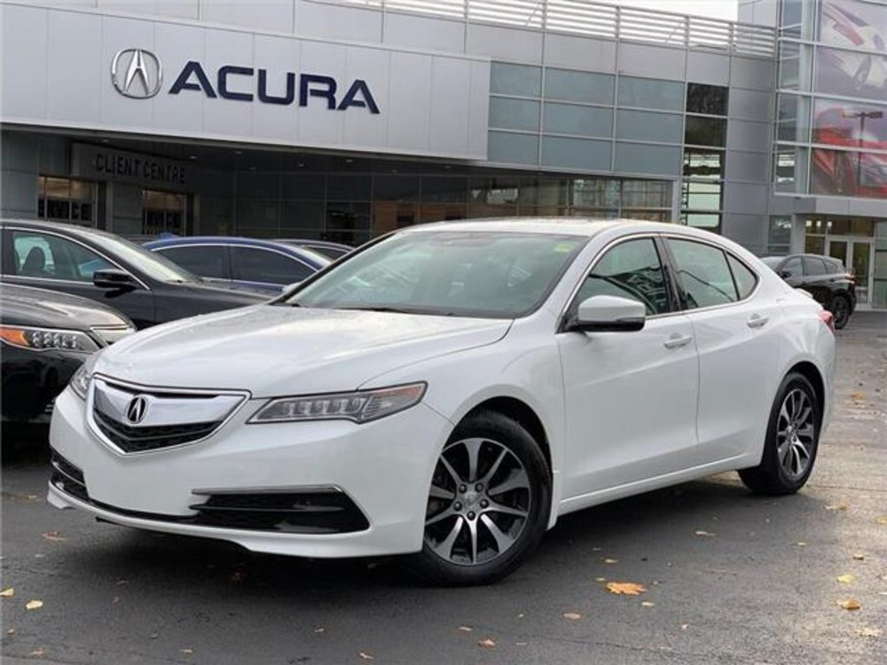 2015 pre-owned Acura TLX Tech $21,289 - Acura On Brant - Burlington, ON