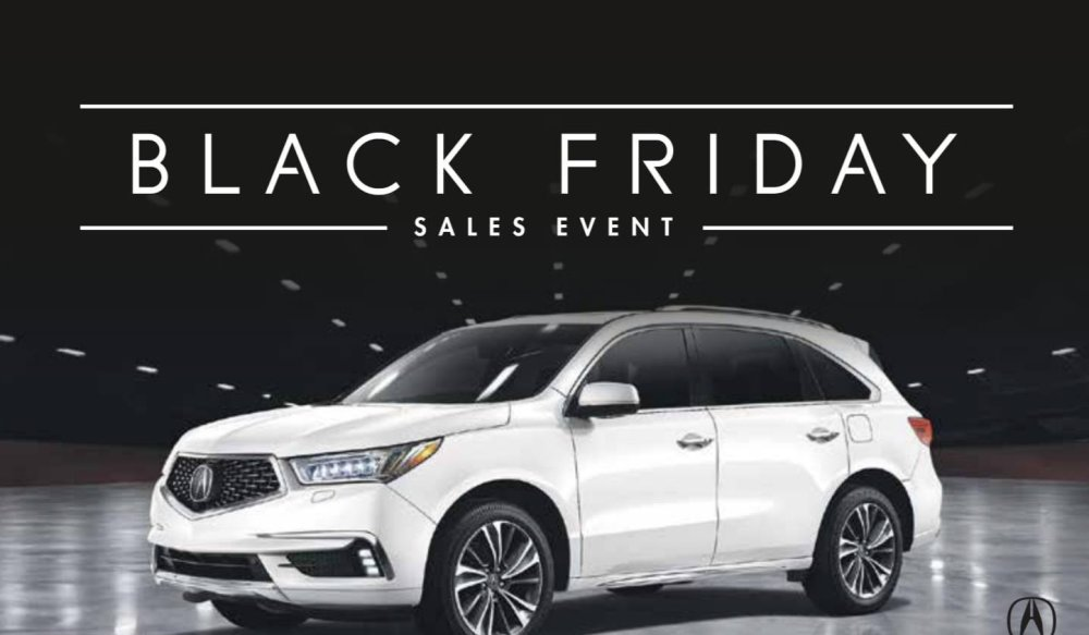 Acura On Brant Black Friday Sales Event, Burlington, ON