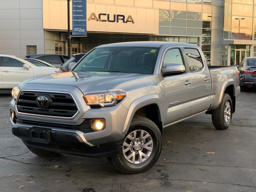 2018 pre-owned Toyota Tacoma SR5 V6 4x4 Double Cab $39,689 - Acura On Brant