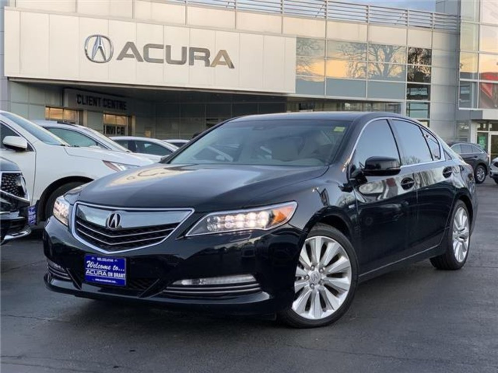 2016 Pre-Owned Acura RLX Sport Hybrid $35,989 - Acura On Brant, Burlington, ON