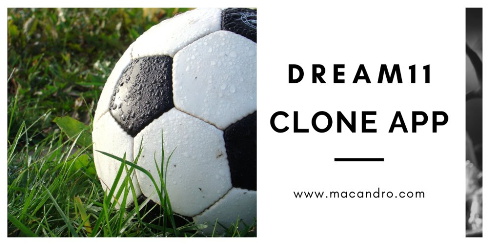 Make An App Like Dream11 With Macandro