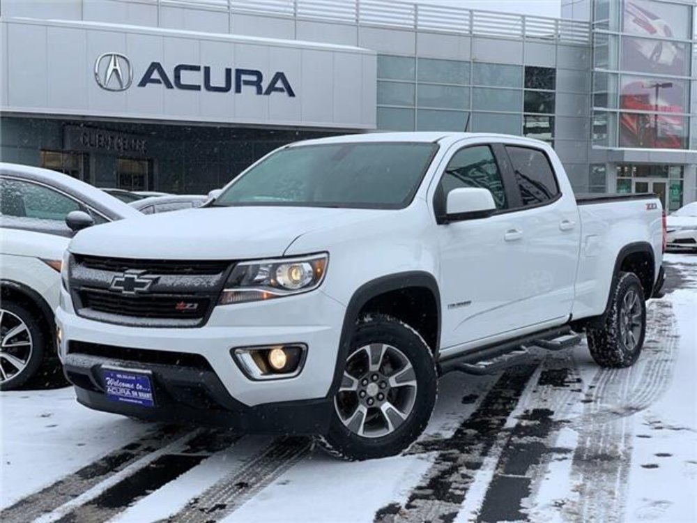 2016 Pre-Owned Chevrolet Colorado Z71 $30,389 Acura On Brant, Burlington, ON