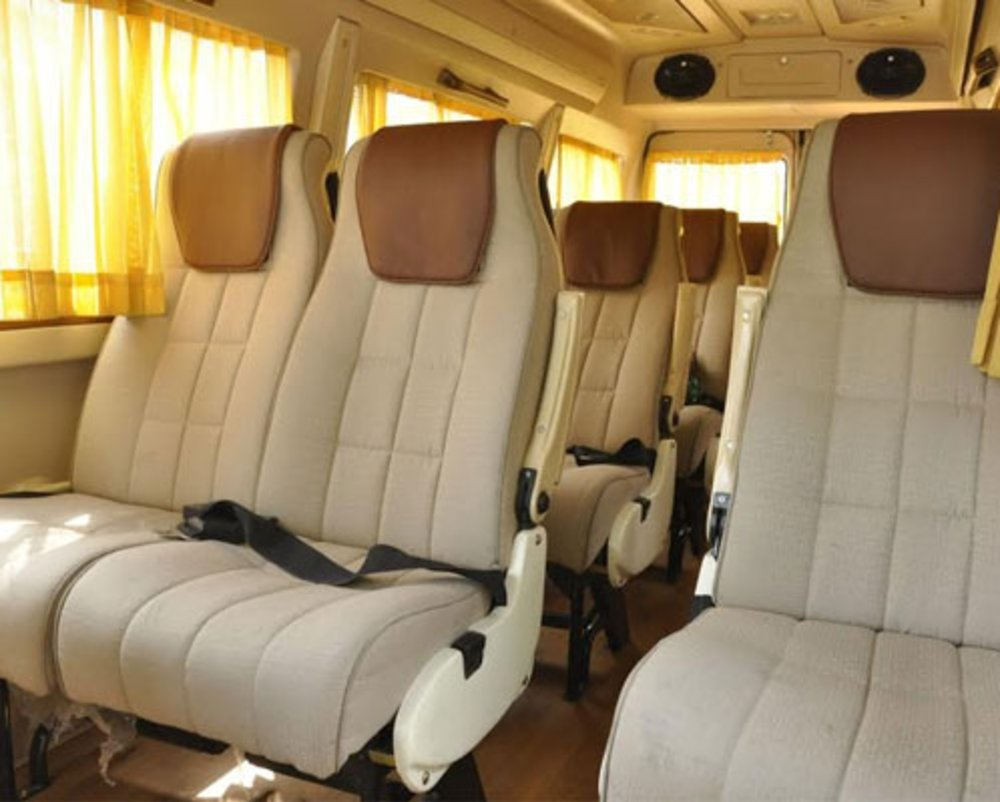 Luxury Tempo Traveller HireEnter content title here...