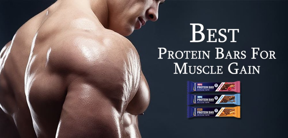 Best Protein Bars For Muscle Gain