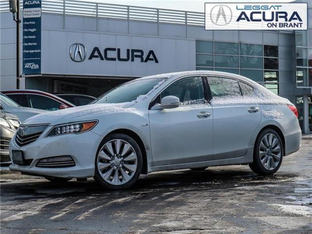 2015 Pre-Owned Acura RLX Sport Hybrid $26,589 Acura On Brant, Burlington, ON