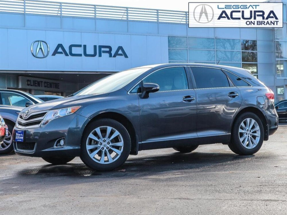2014 Pre-Owned Toyota Venza Base LE $16,989 Acura On Brant, Burlington, ON