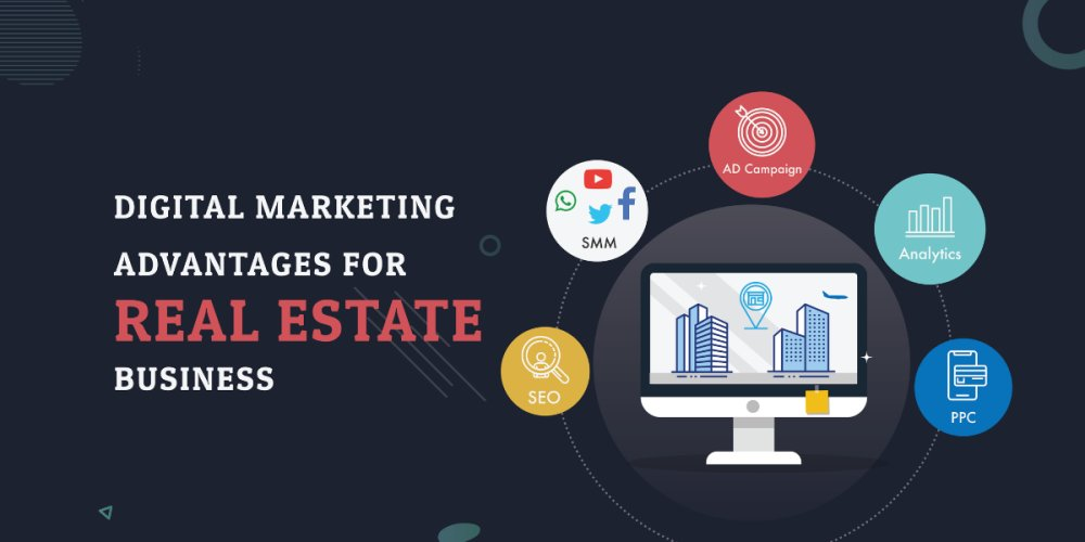How Real Estate Businesses Can Take Advantage of Digital Marketing Strategies? -