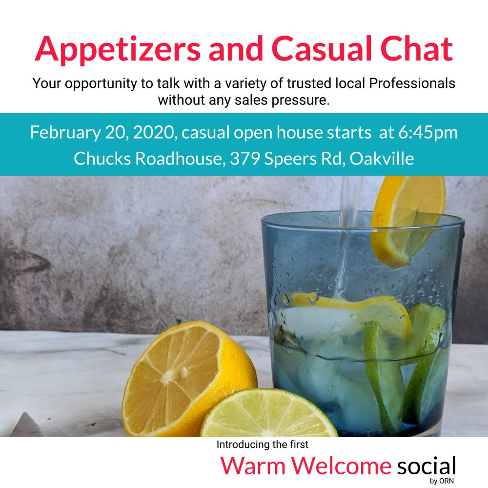 Warm Welcome Social - Feb 20, 2020, 6:45pm