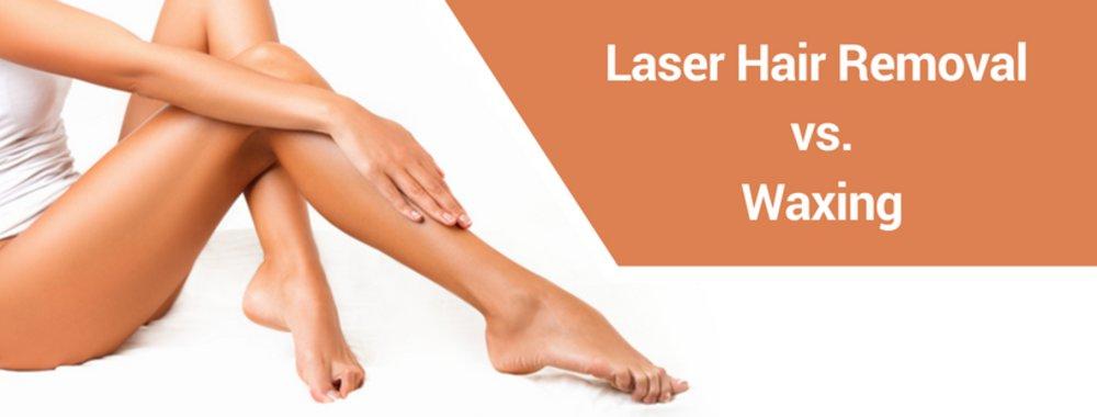 Laser Hair Removal vs. Waxing