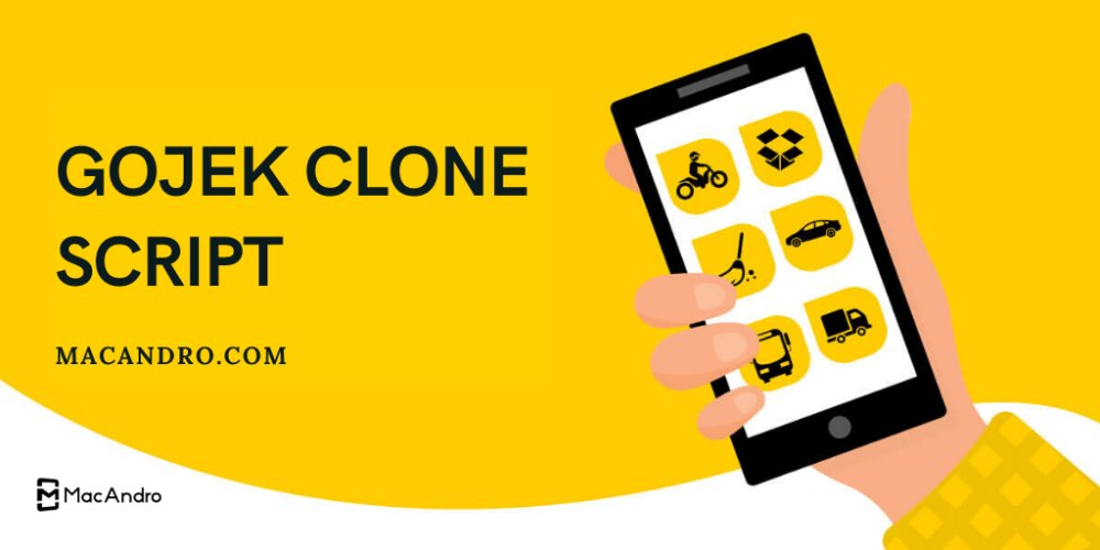 Get the Best Gojek Clone Script At Macandro Enter content title here...