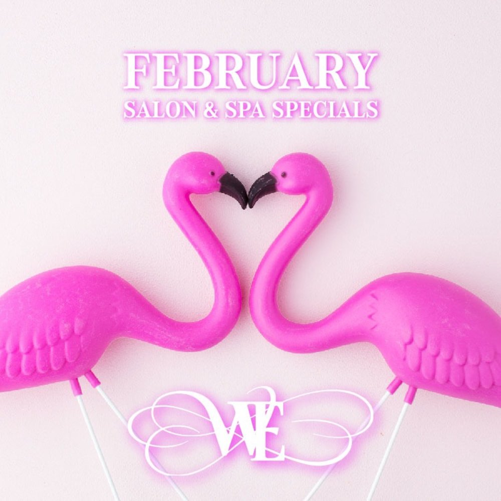 February is all about LOVE at Waters Edge Salon and Spa
