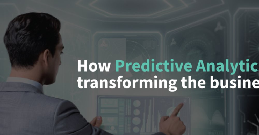 How Predictive Analytics is Transforming The BusinessEnter content title here...