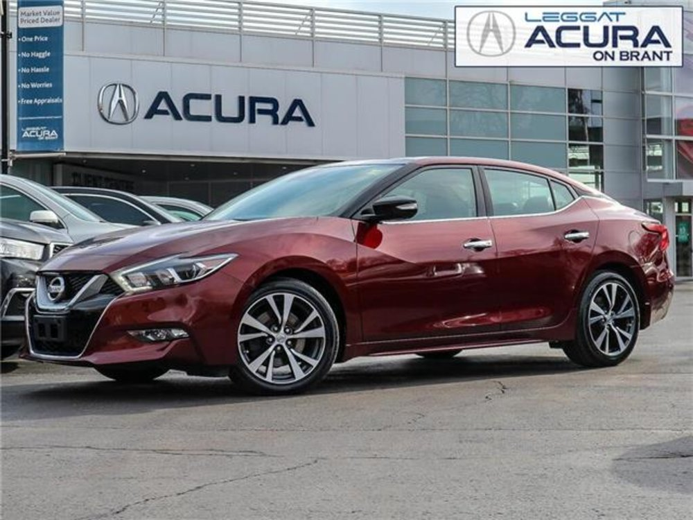 2016 Pre-Owned Nissan Maxima $21,989 Acura On Brant, Burlington, ON