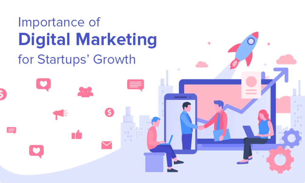 Importance of Digital Marketing for Startups' Growth
