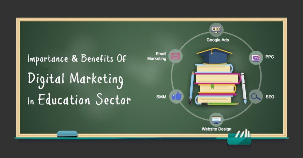 Importance & Benefits Of Digital Marketing In Education Sector - GeeksChip