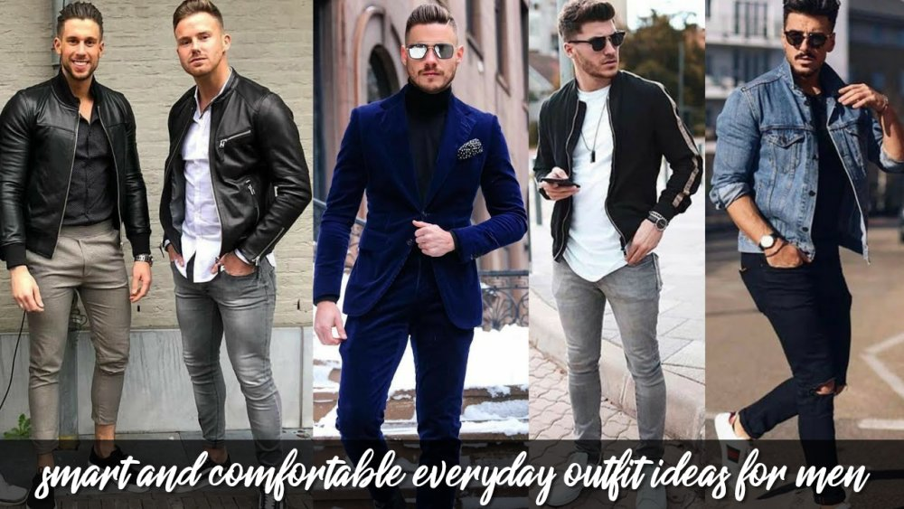 Smart And Comfortable Everyday Outfit Ideas For Men