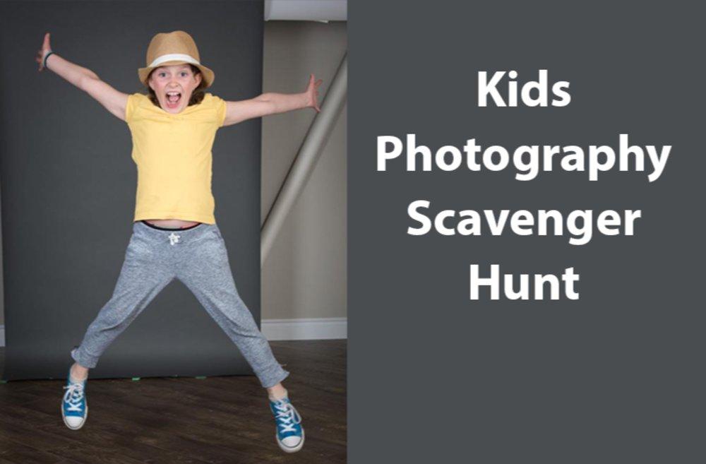 Kids Photography Scavenger Hunt