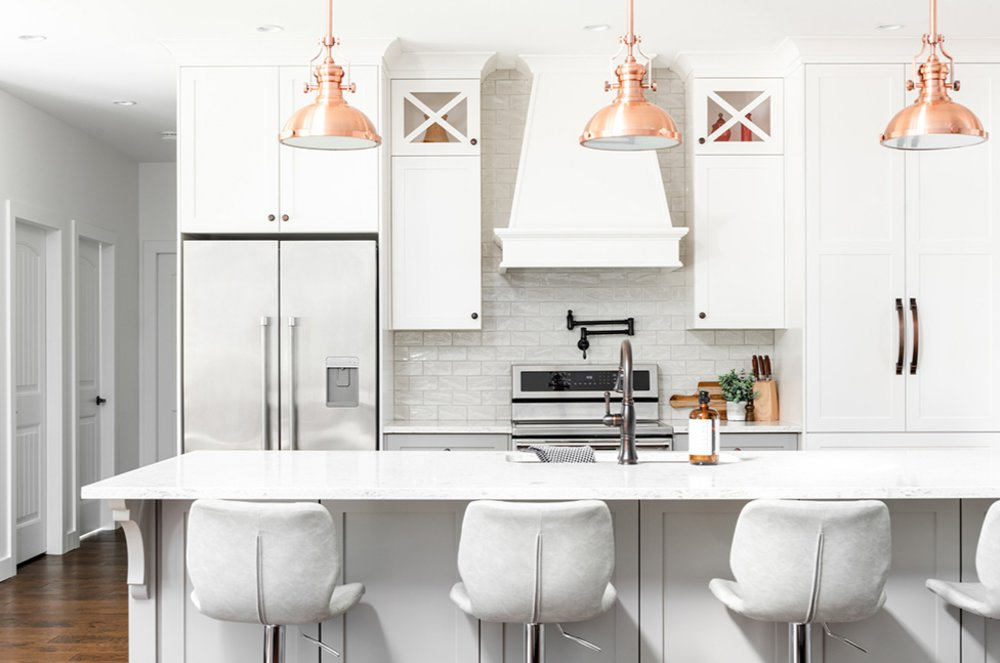 How do you make modern kitchen cabinets?