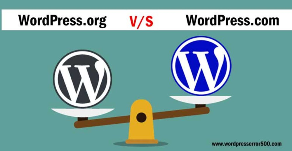 Difference between Wordpress.org and Wordpress.com