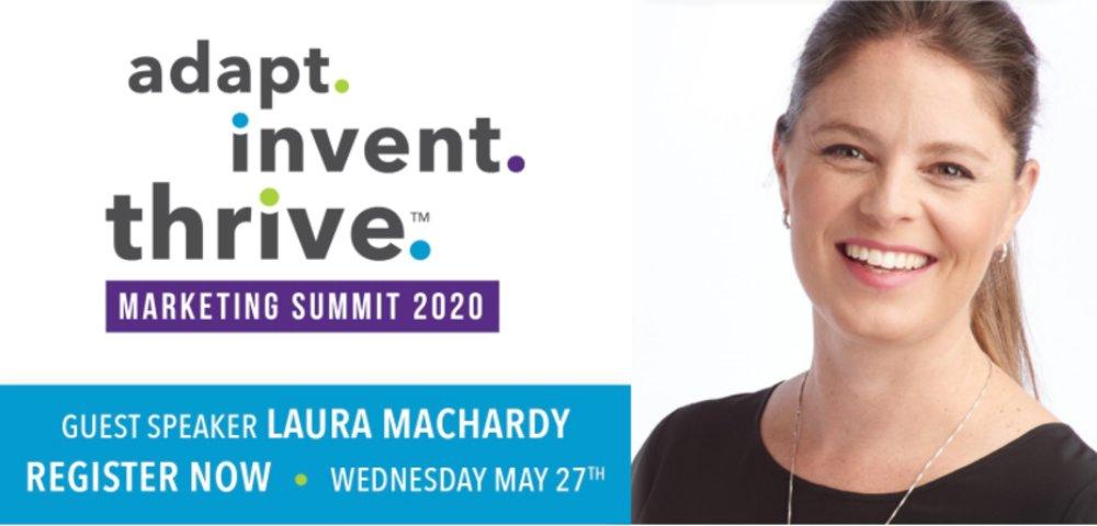 Adapt. Invent. Thrive. Online Marketing Summit | Laura MacHardy - Klusster