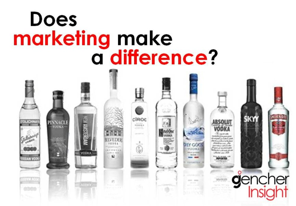 Does branding and marketing make a big difference?