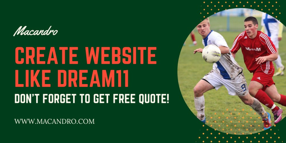 Create A Website Like Dream11 - Macandro itle here...