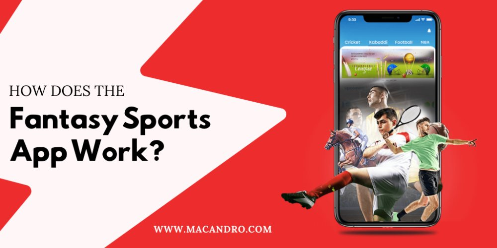 How does the Fantasy Sports app work?