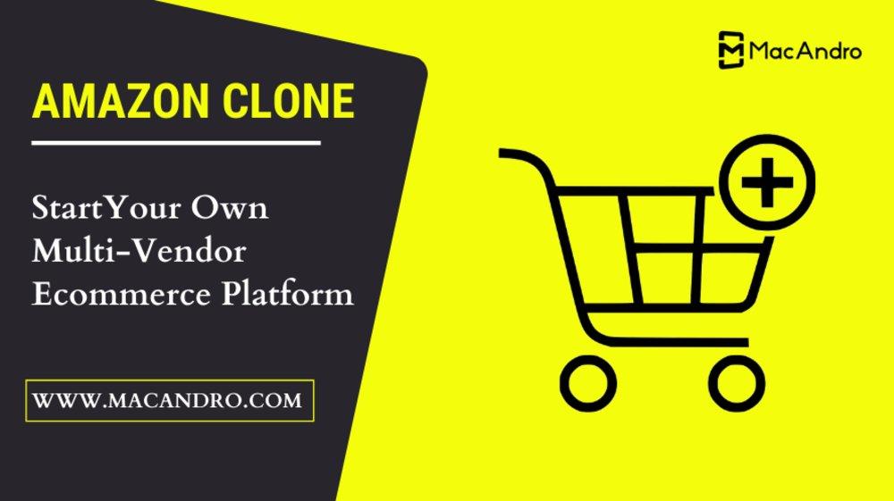 Amazon Clone Script   Amazon Clone App   Macandro