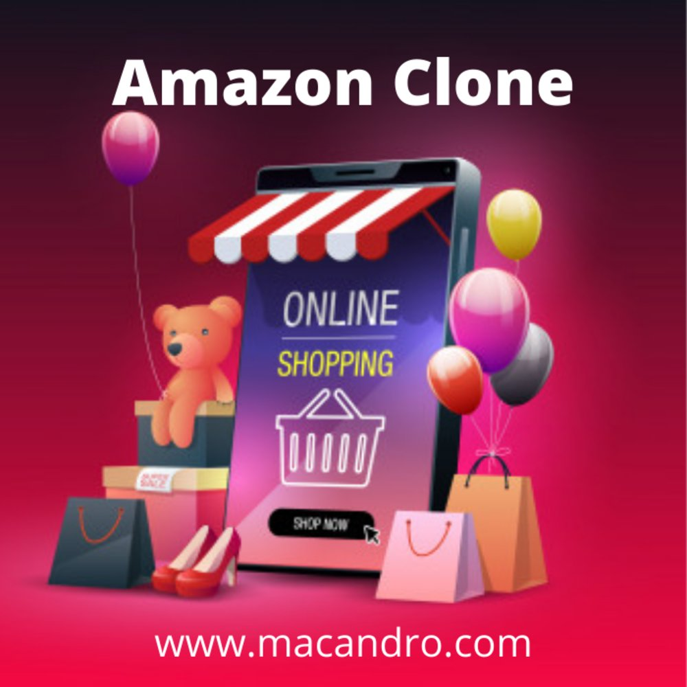 Features of Amazon Clone Script | Macandro