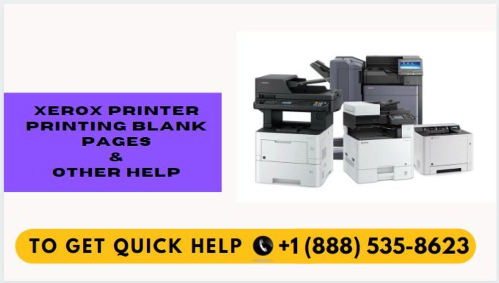 How to Fix Xerox Printer Printing Blank Pages?