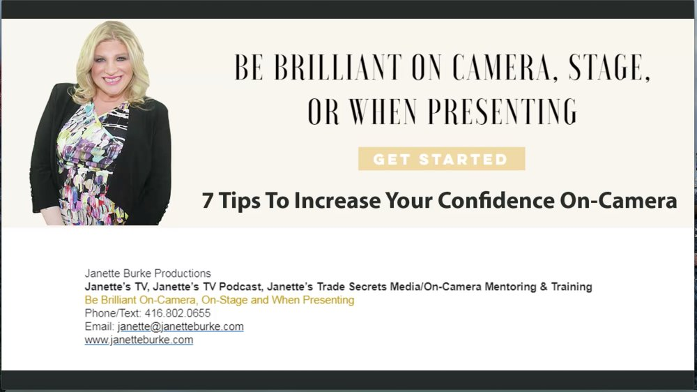 7 Ways to Be More Confident On-Camera