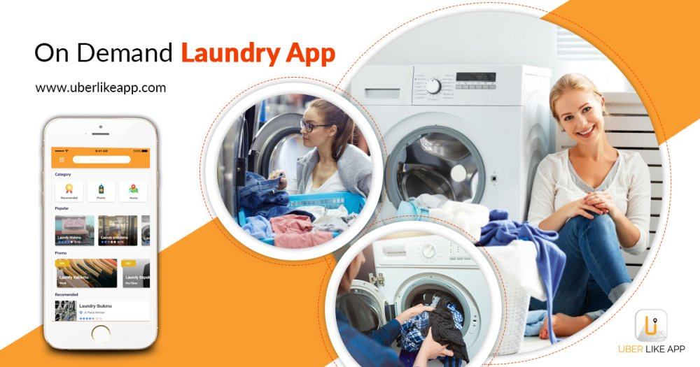 The concept of on-demand laundry service applications and the business models in