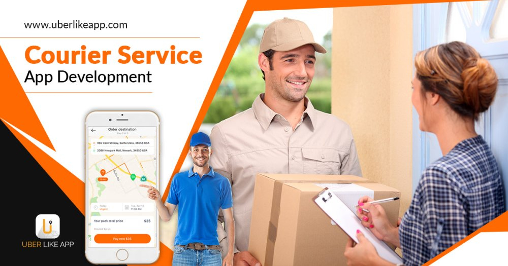 The primary elements and main aspects of the on-demand courier service business
