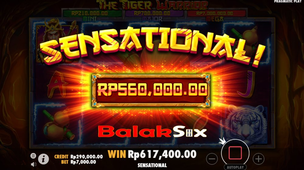 Slot Online Indonesia - The Tiger Warrior