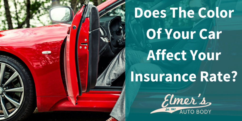 Does The Color Of Your Car Affect Your Insurance Rate?