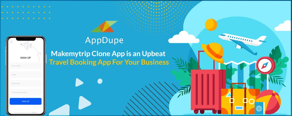 Makemytrip Clone App Is An Upbeat Travel Booking App For Your Business
