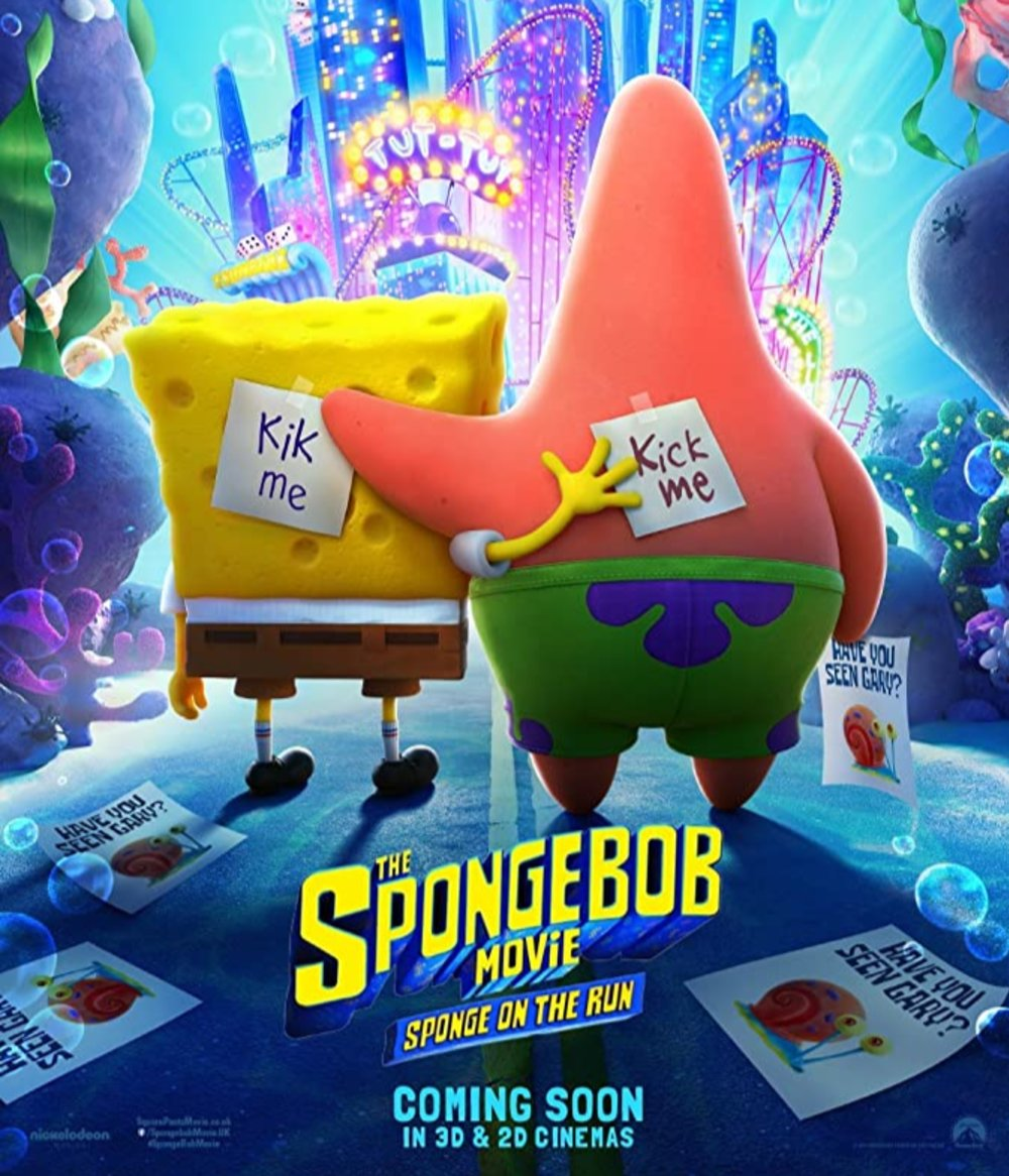 Nonton Film The SpongeBob Movie: Sponge on the Run (2020) Sub Indo