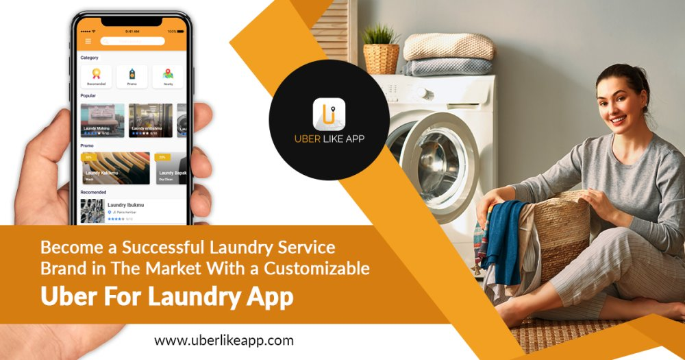 What are the features of laundry application