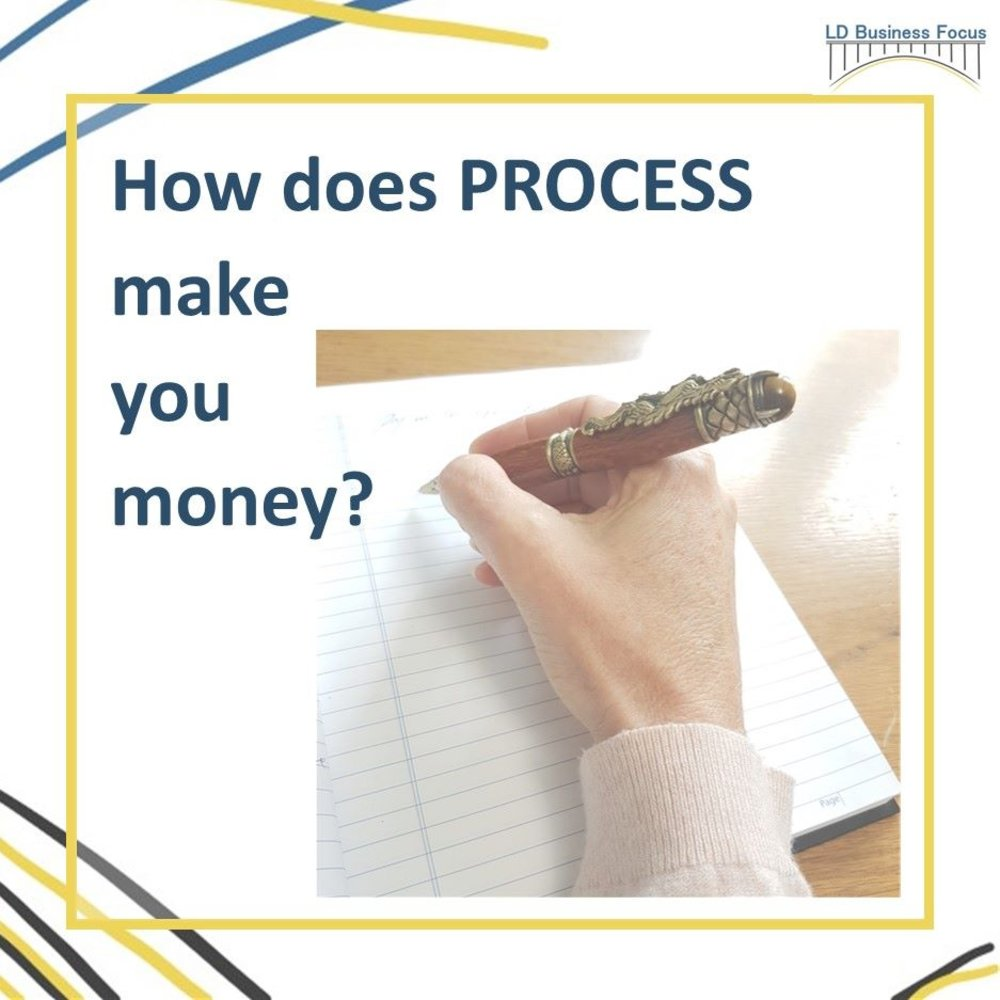 How does process make you money?