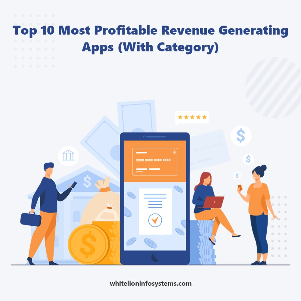 Top 10 Most Profitable Revenue Generating Apps (With Enter content title here...
