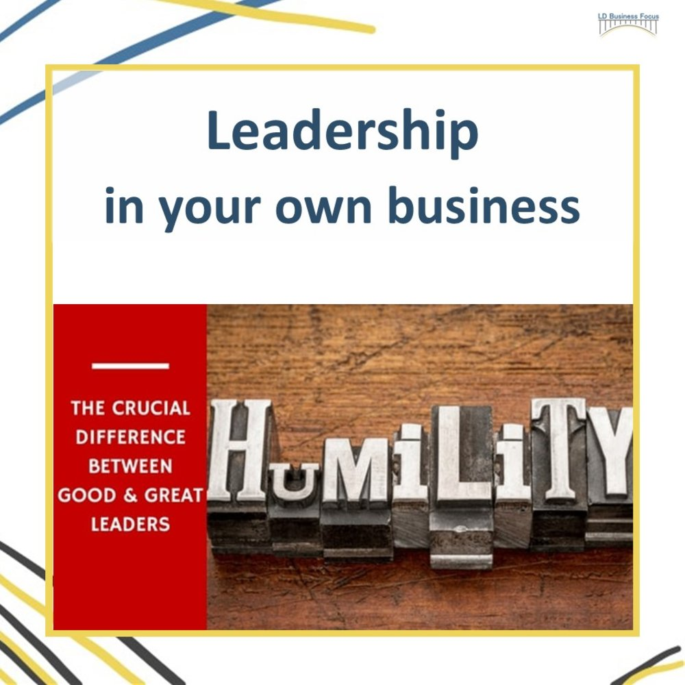 Leadership in Your Own Business