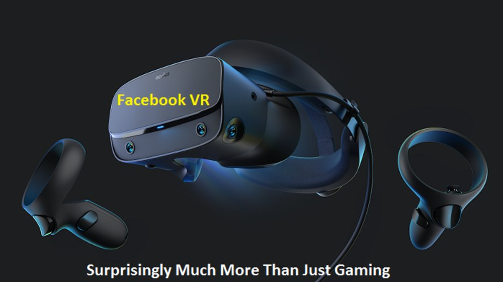 Facebook VR is Surprisingly Much More Than Just Gaming