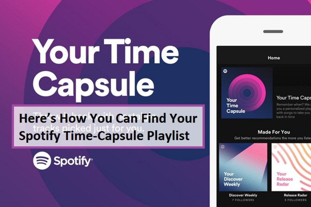 Here's How You Can Find Your Spotify Time-Capsule Playlist